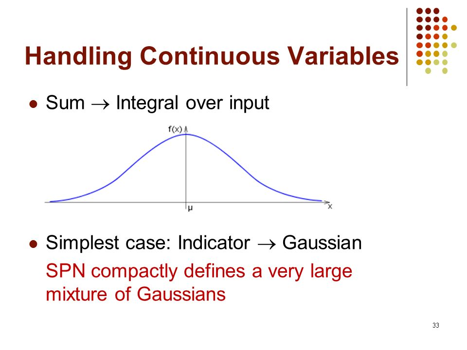 Handling Continuous Variables