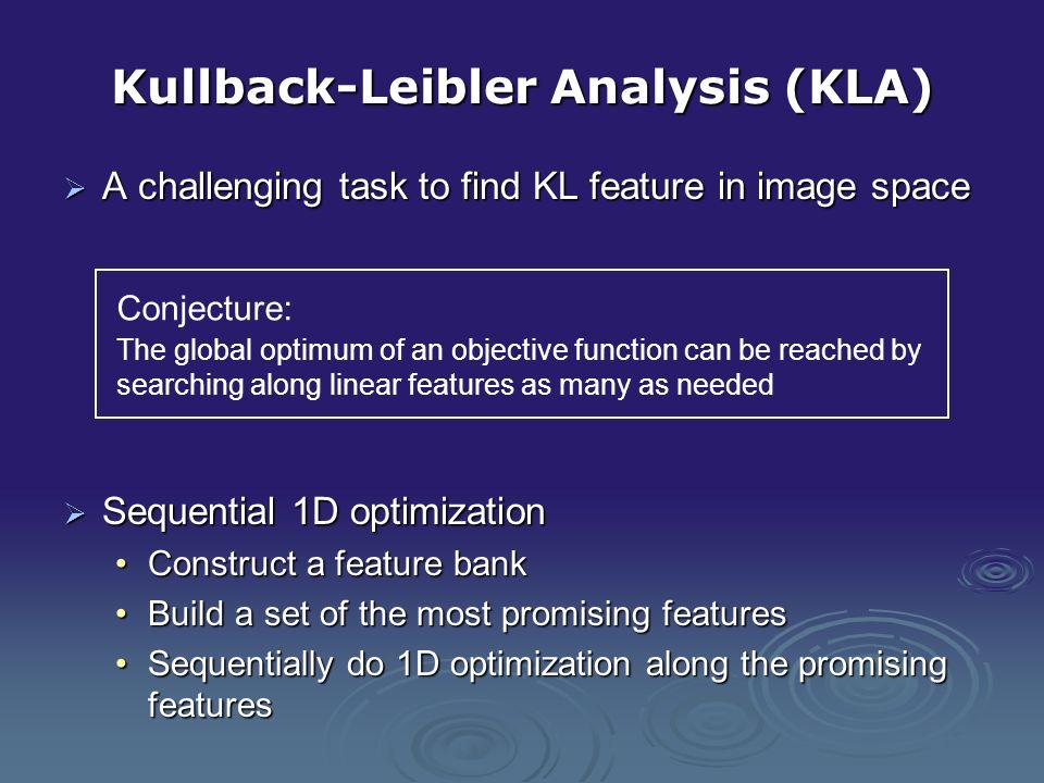 Kullback-Leibler Analysis (KLA)