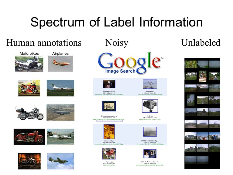 Spectrum of Label Information