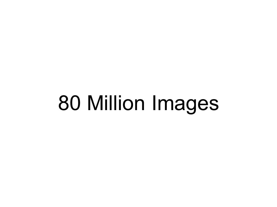 80 Million Images