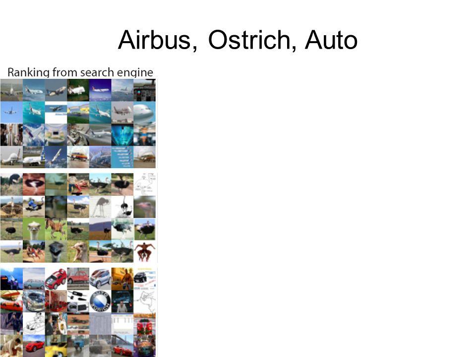 Airbus, Ostrich, Auto