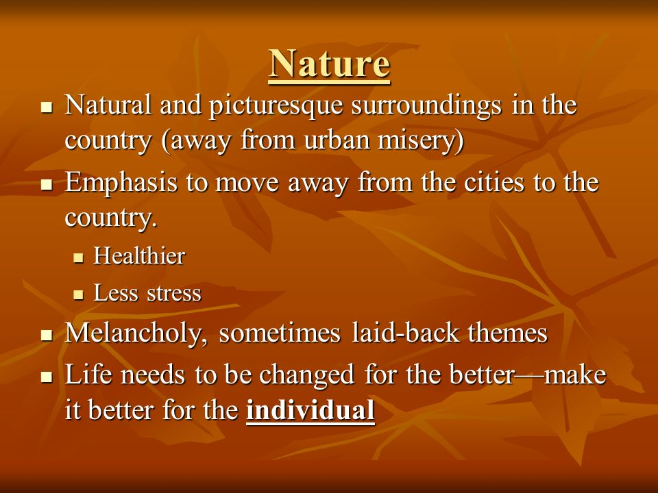nature vs society wordsworths romantic poetry Free essay: nature vs society: wordsworth's romantic poetry over time, poetry  has changed and evolved in its sense of the word nature.