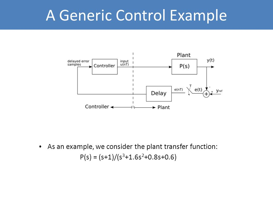 A Generic Control Example