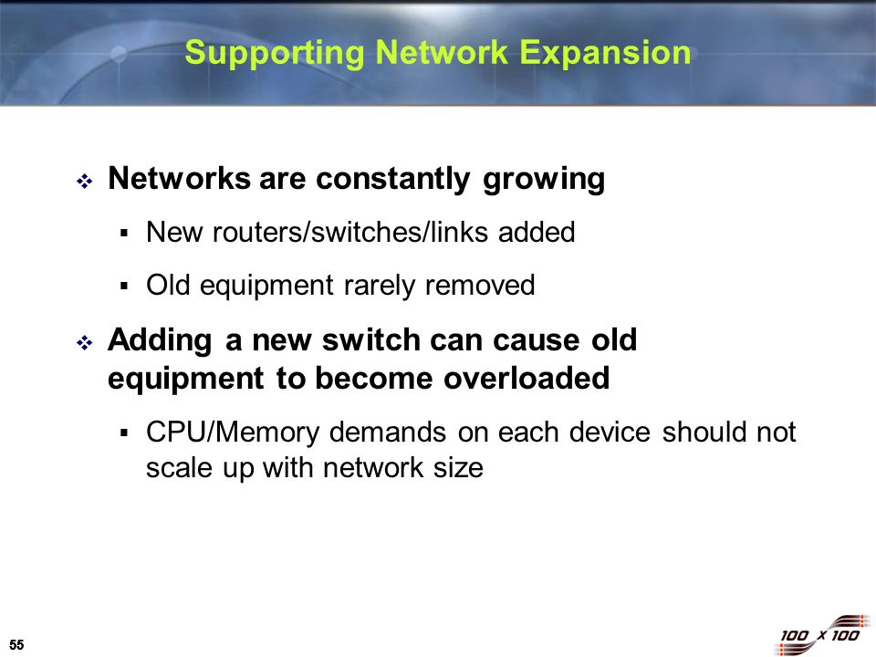 Supporting Network Expansion