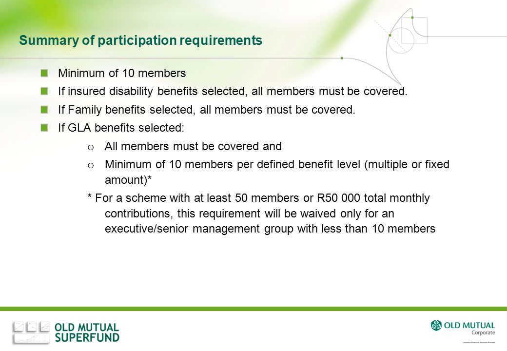 OLD MUTUAL SUPERFUND. - ppt video online download