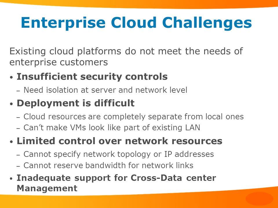 Enterprise Cloud Challenges