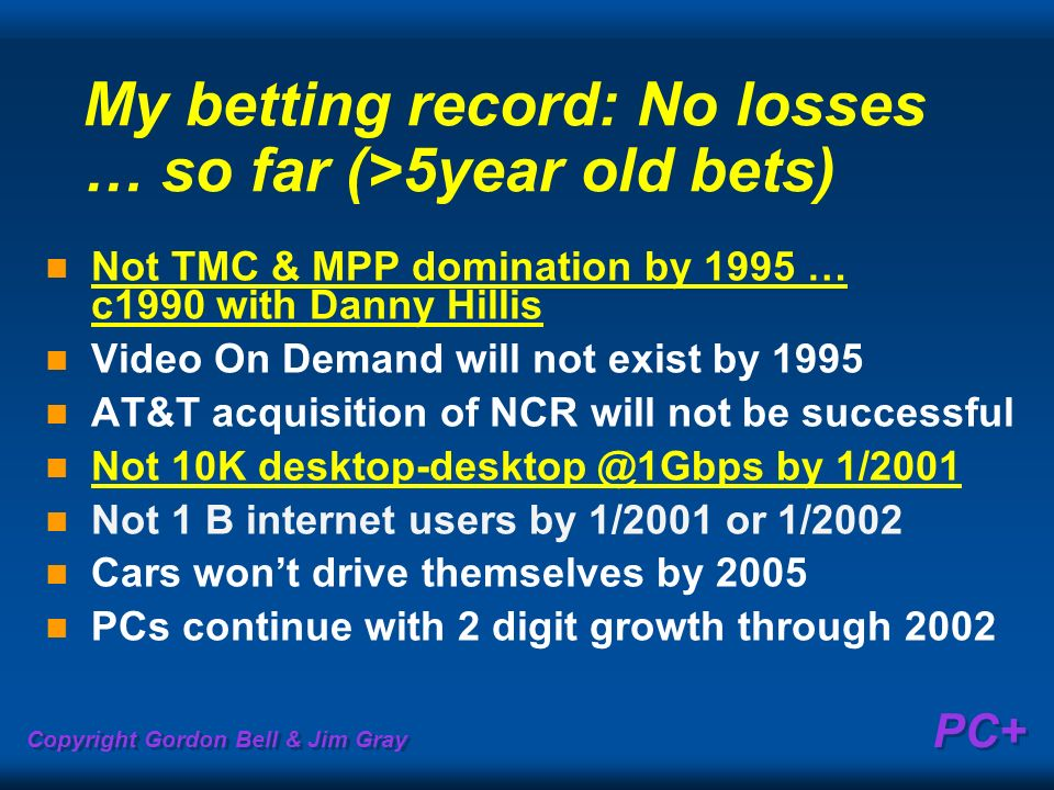 My betting record: No losses … so far (>5year old bets)