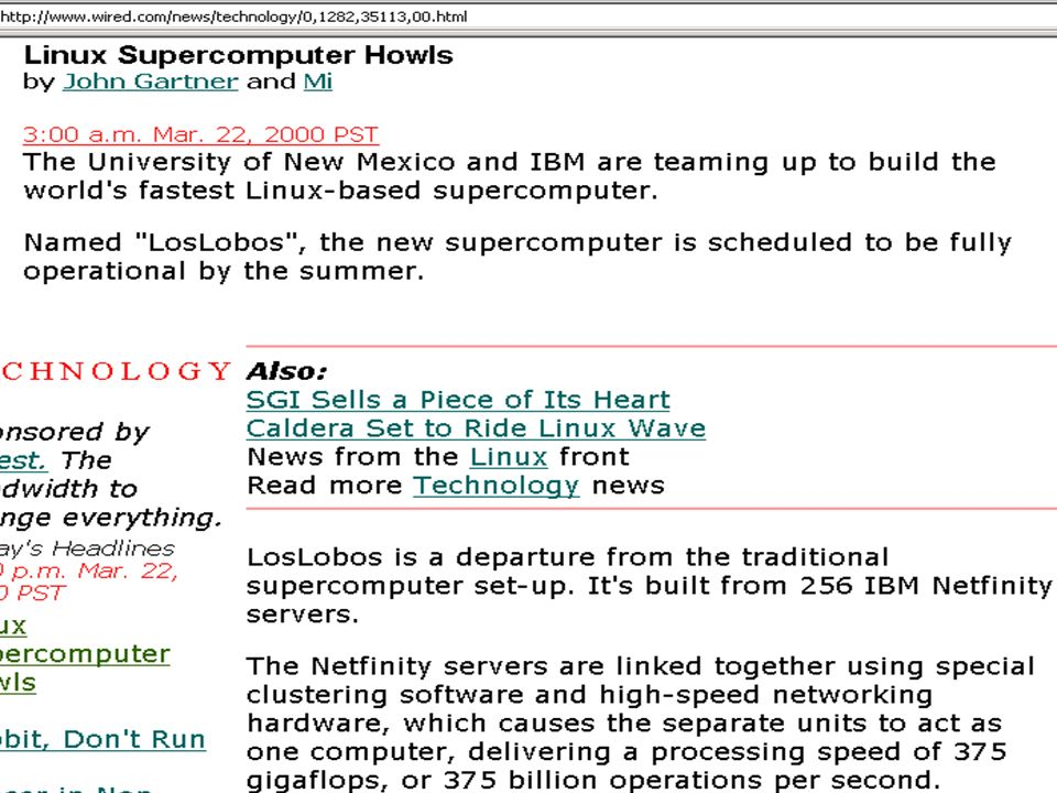 Linux super howls