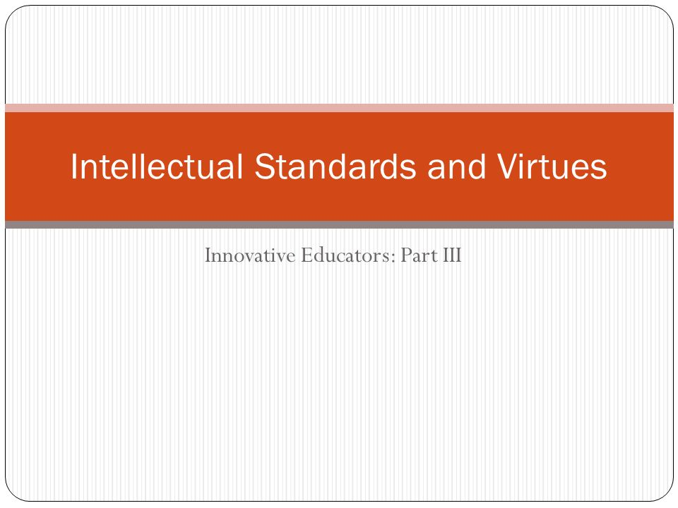 intellectual standards Buy the thinker's guide to intellectual standards (thinker's guide library): read 2 kindle store reviews - amazoncom.