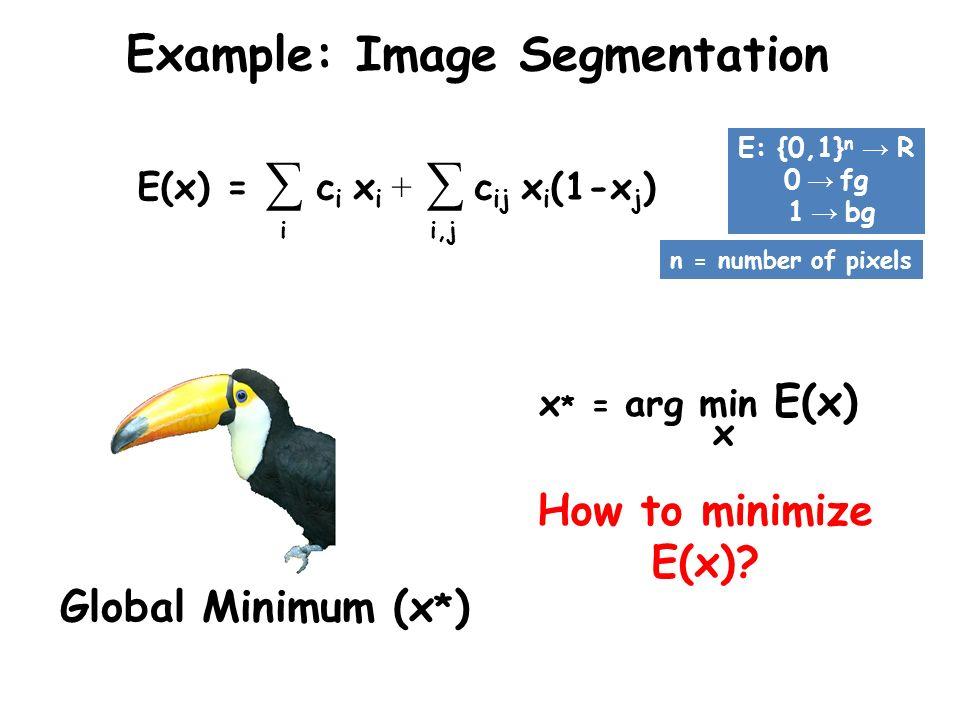 Example: Image Segmentation