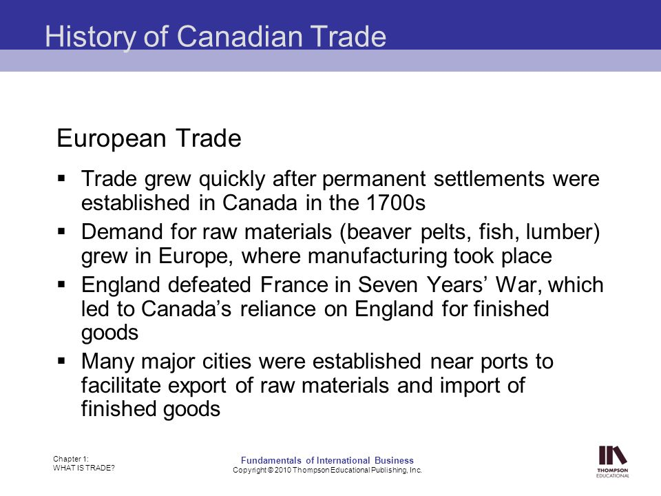 the history and growth of the canadian fur trade The fur trade was one of the leading causes for european exploration and settlement in canada complete the mapping exercise below to trace the growth of the fur trade.