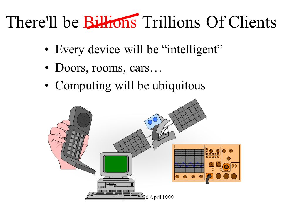 There ll be Billions Trillions Of Clients