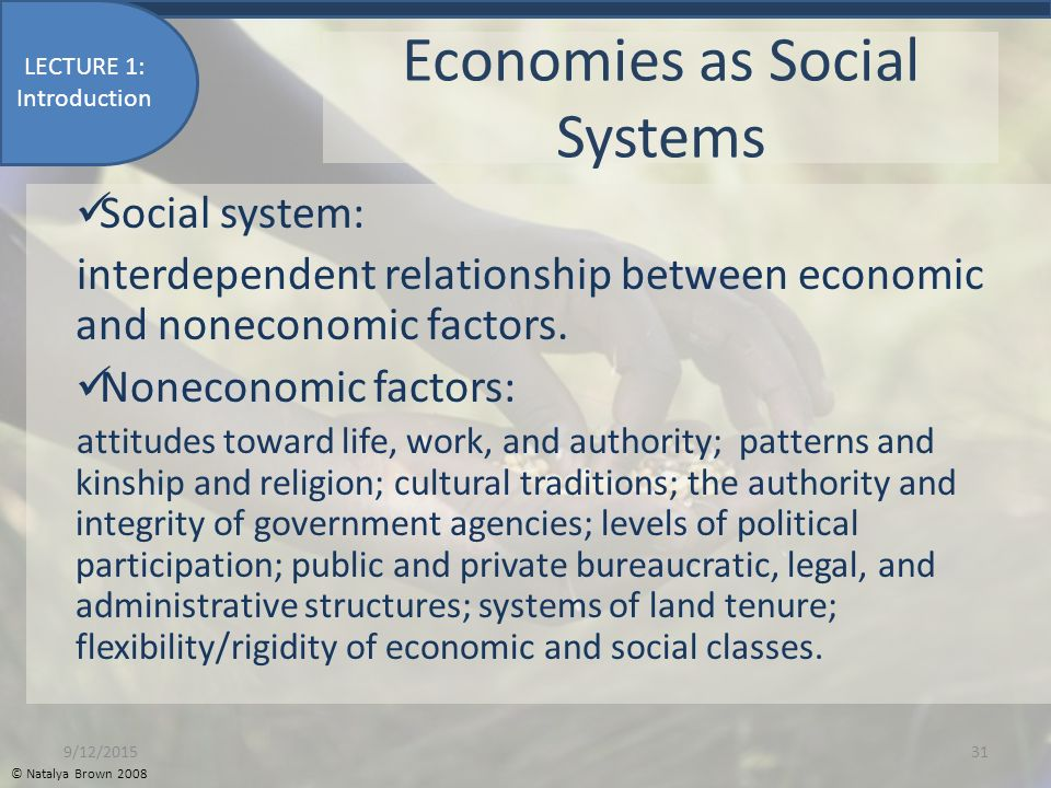 the relationship between education economy and social systems