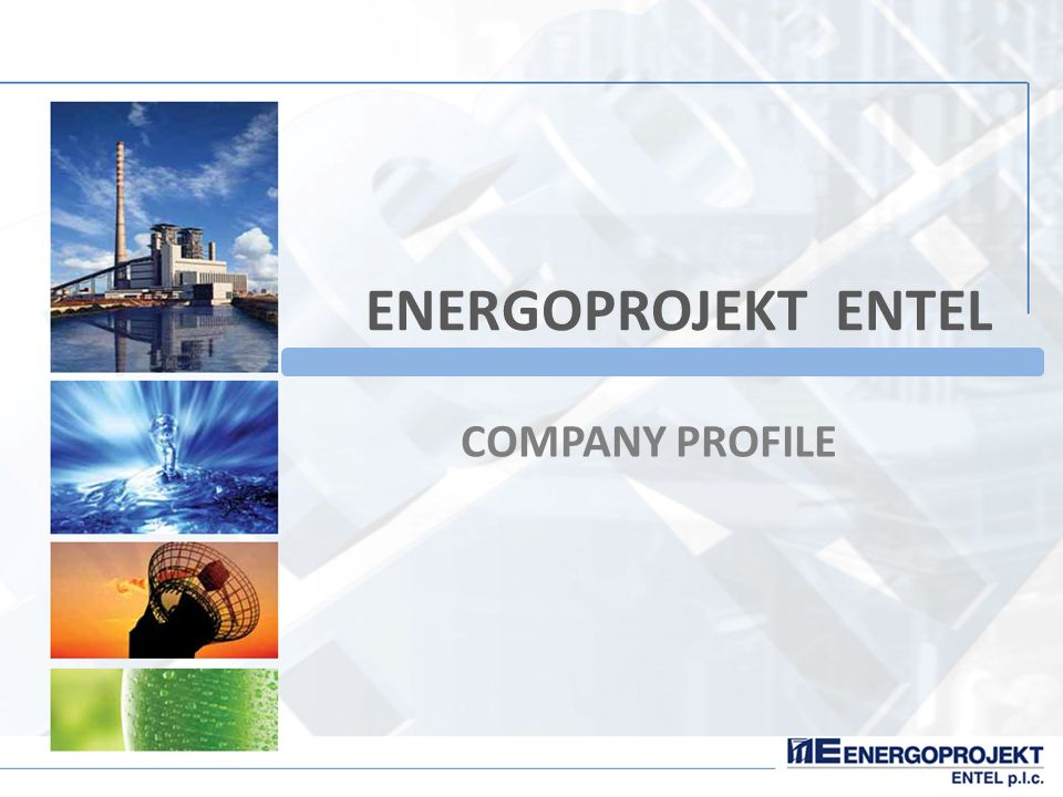 Energoprojekt entel company profile ppt video online for Design consultancy company profile