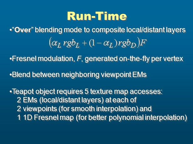 Run-Time Over blending mode to composite local/distant layers