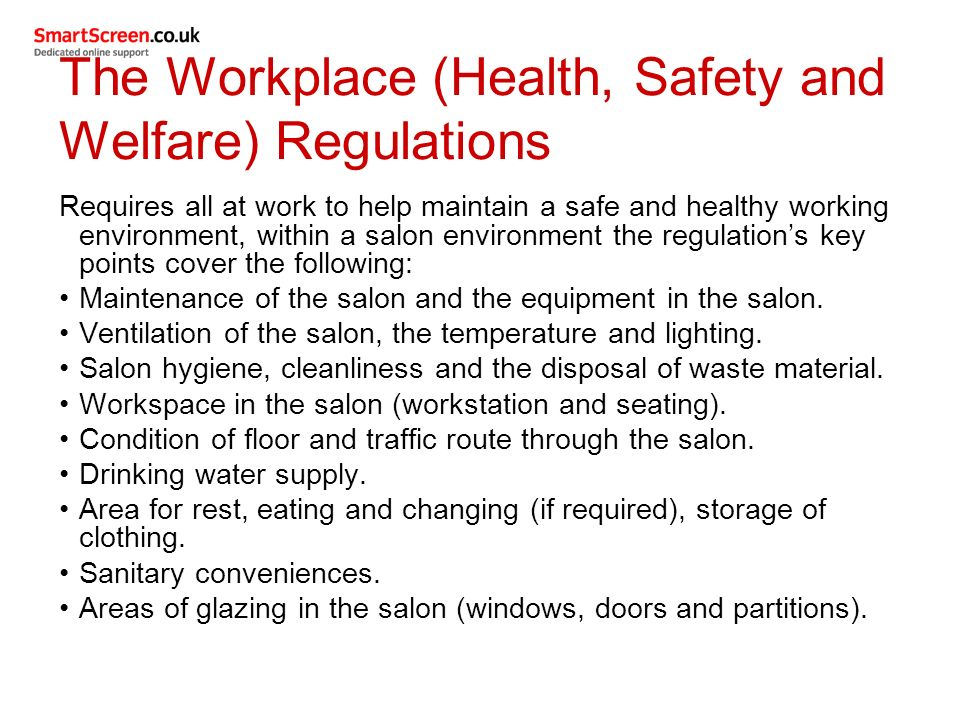 how health and saftey is moniterd and maintained essay 2 explain how health and safety is monitored and maintained in work setting are  made aware of risks and hazards  we will write a custom essay sample on.