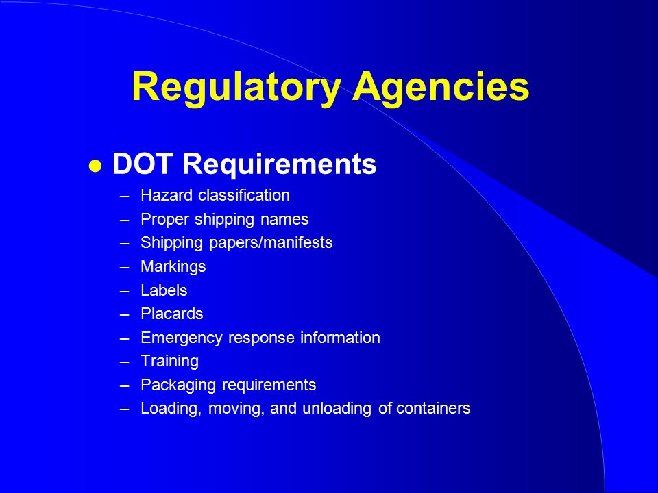 regulatory agency paper essay Regulatory agencies paper hcs/437 by prof | feb 2, 2015  please someone help with a essay that is of emerging markets  regulatory agency paper.