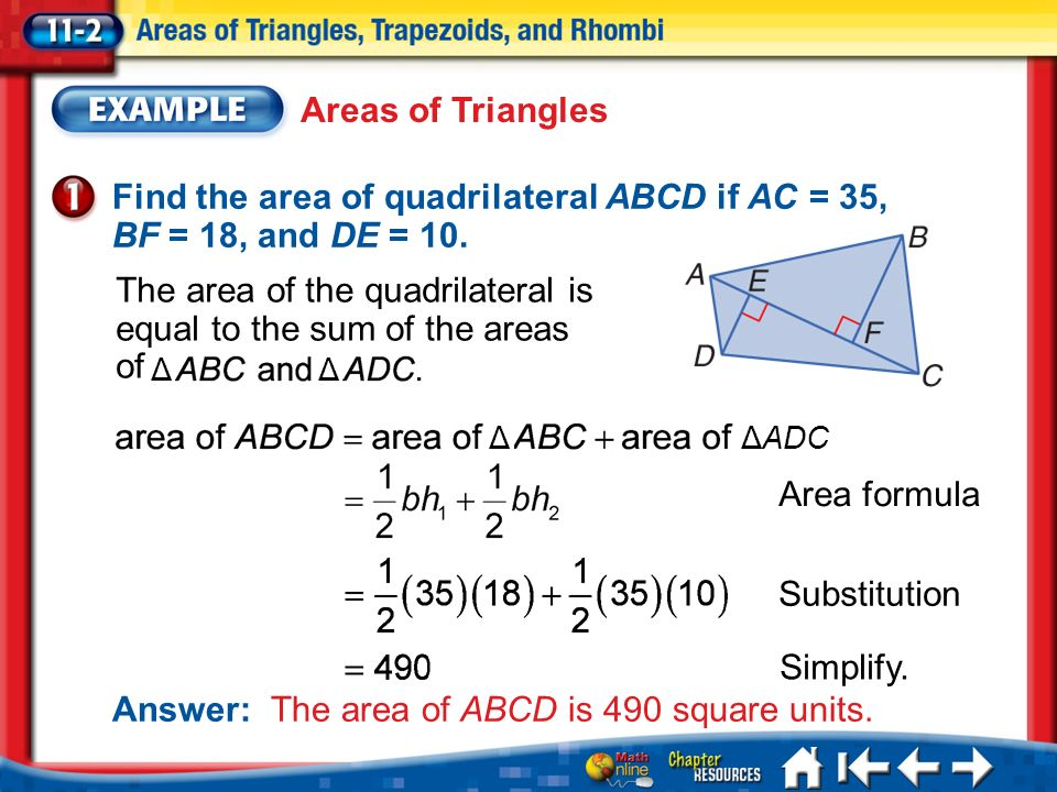 how to find the area of any quadrilateral