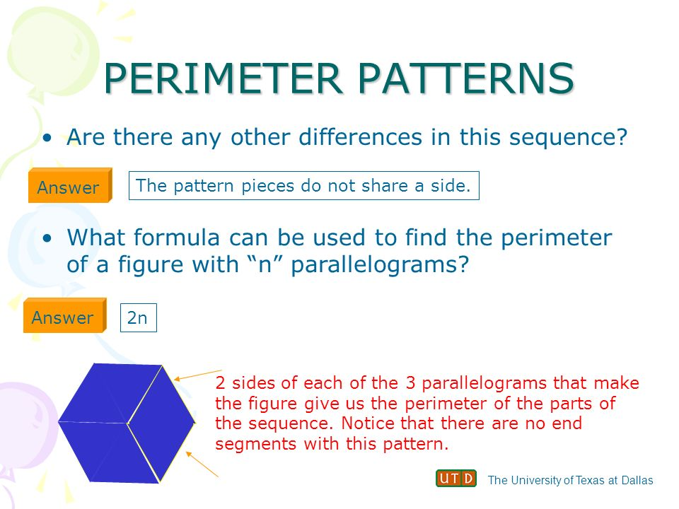 how to find the formula of a pattern