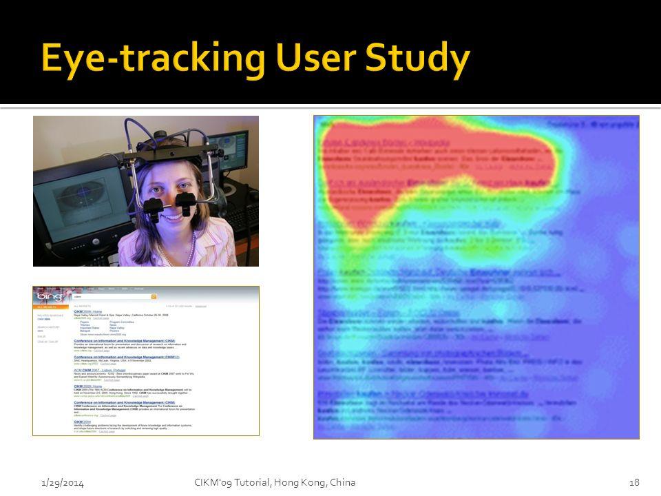 Eye-tracking User Study