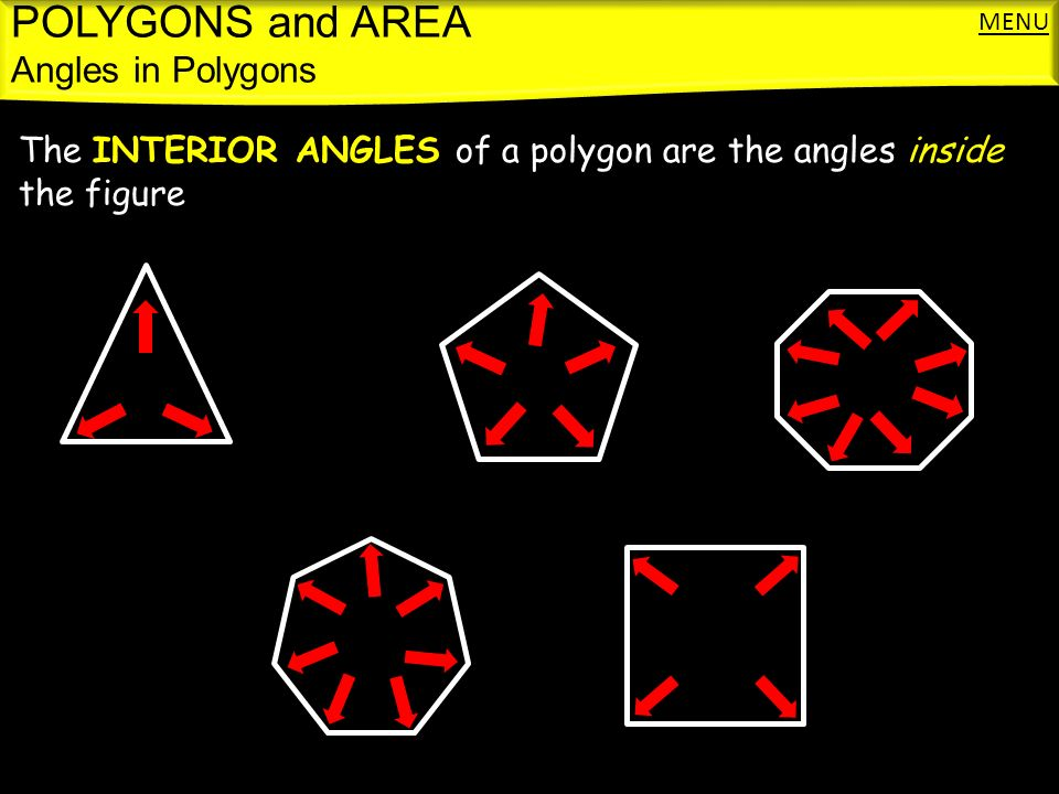 Polygons And Area Classifying Polygons Angles In Polygons Ppt Download