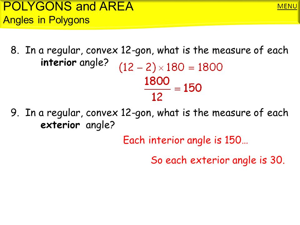 Define Exterior Angle Of A Polygon Bbc Gcse Bitesize Calculating The Number Of Sides In A