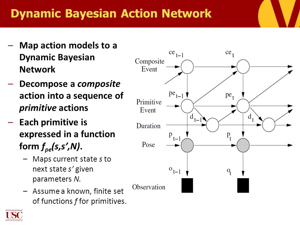Dynamic Bayesian Action Network
