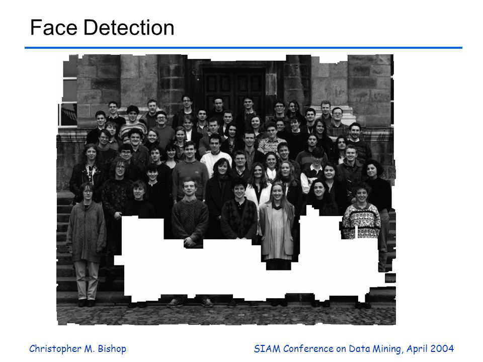 Face Detection Christopher M. Bishop