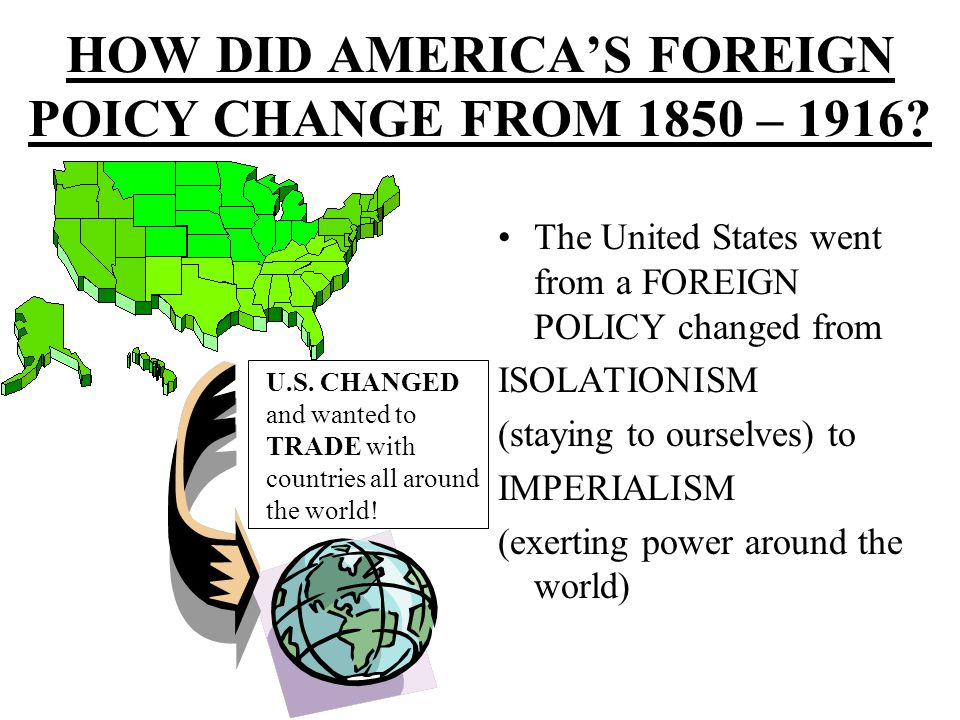 the term of isolationism in the us foreign policy The role of isolationism in the history of the united states of america  the  great rule of conduct for us, in regard to foreign nations, is in extending our  commercial relations,  in addition, america tended to insulate itself in terms of  trade.
