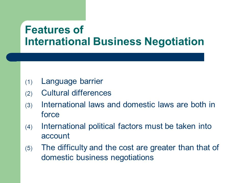 international business negotiation Find international business negotiations program details such as dates, duration, location and price with the economist executive education navigator find international business negotiations program details such as dates, duration, location and price with the economist executive education navigator.