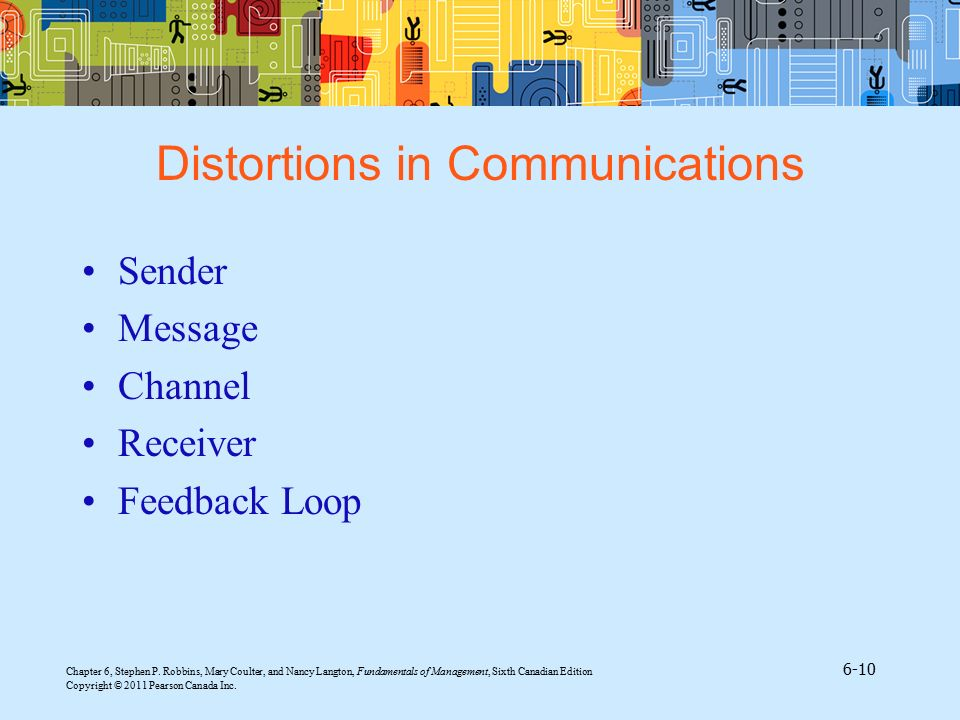 Distortions in Communications