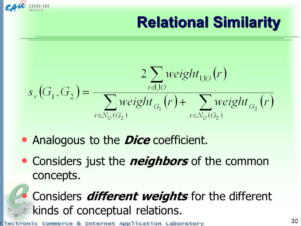 Relational Similarity