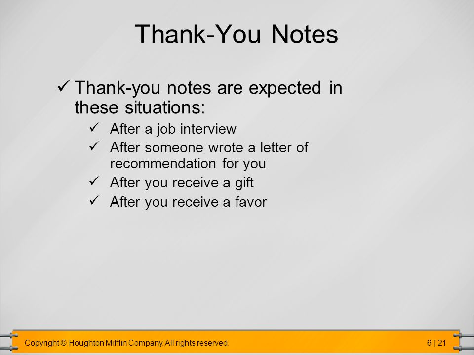 Chapter 6 routine messages ppt video online download 21 thank you negle Images