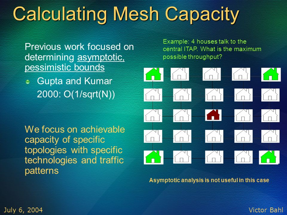 Calculating Mesh Capacity
