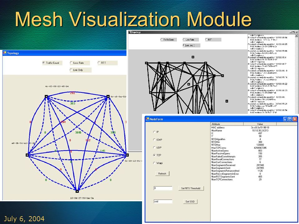 Mesh Visualization Module