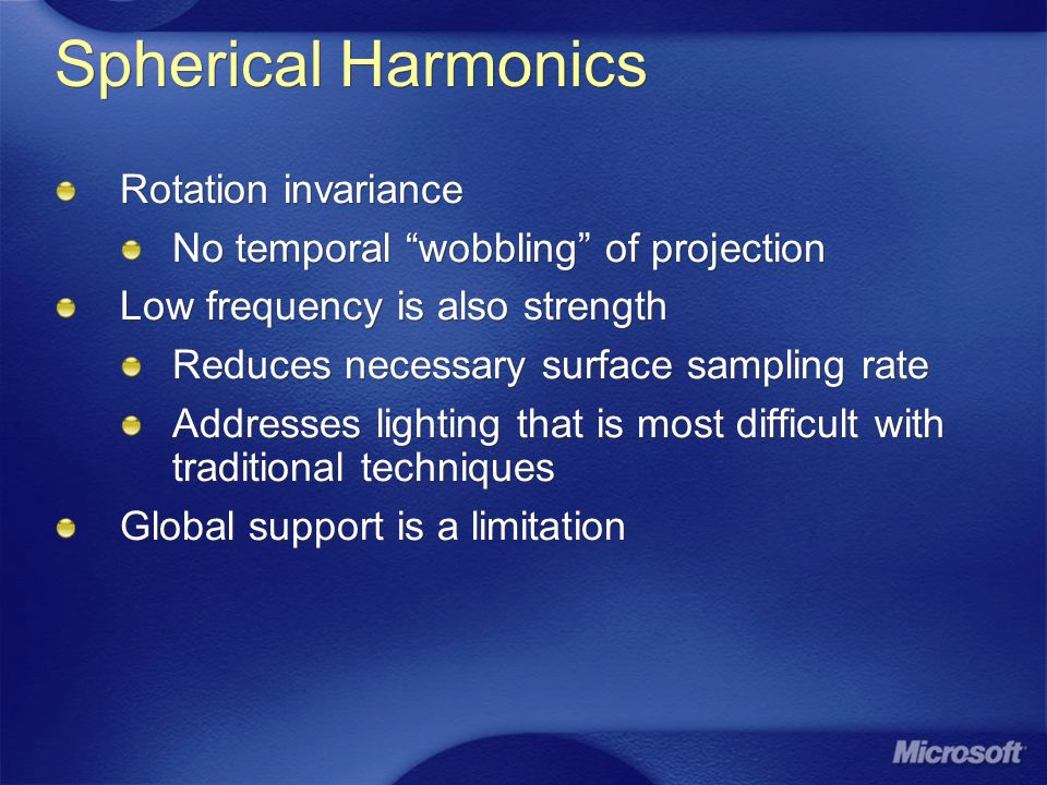 Spherical Harmonics Rotation invariance