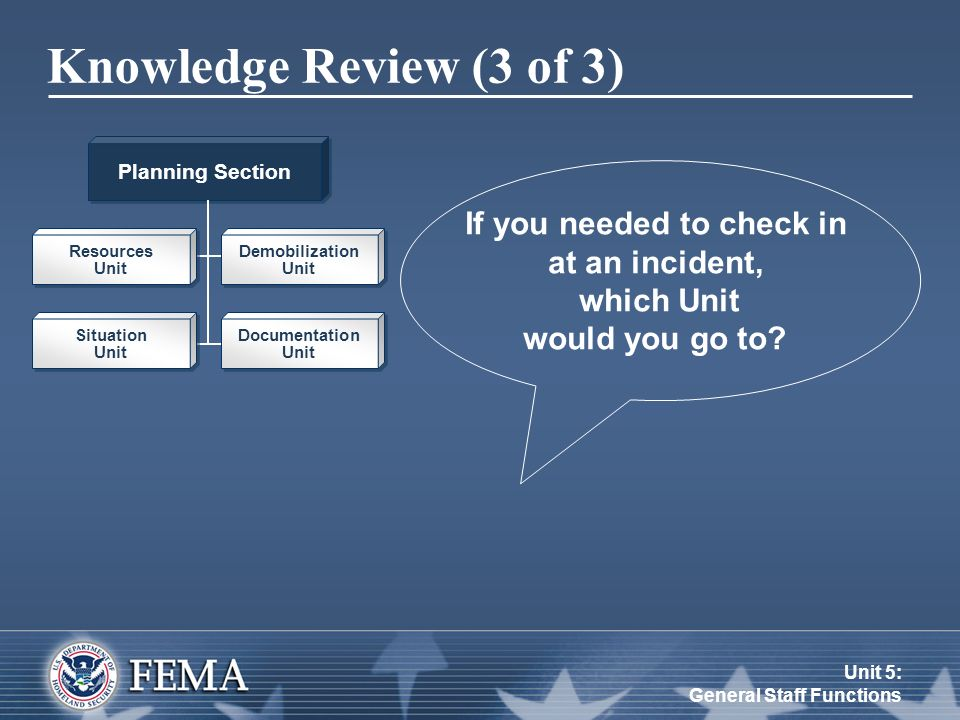 Unit 5: General Staff Functions - ppt video online download