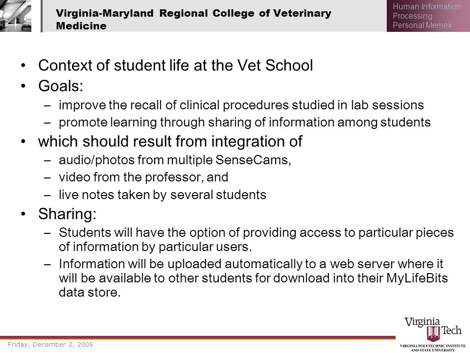 Virginia-Maryland Regional College of Veterinary Medicine