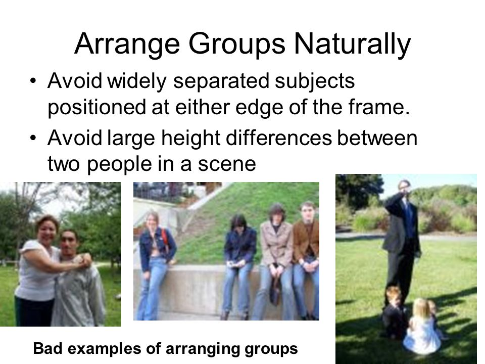 Arrange Groups Naturally