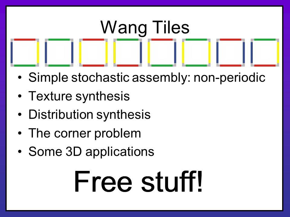 Free stuff! Free stuff! Wang Tiles