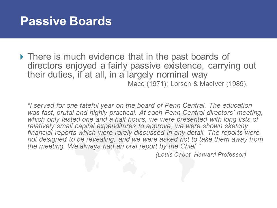 Passive Boards