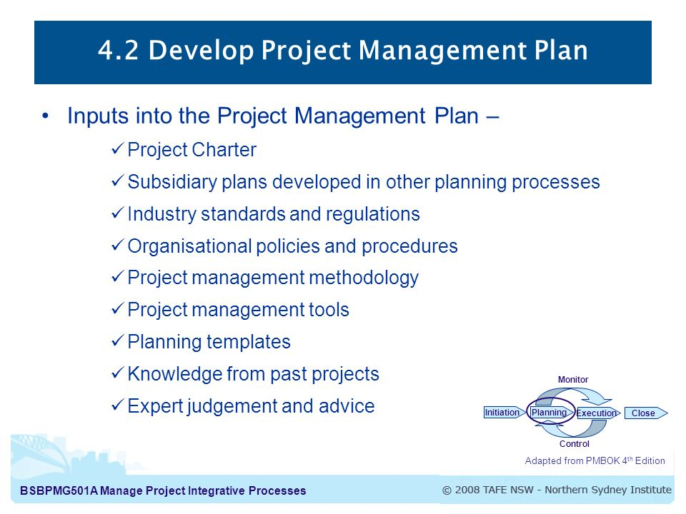 Develop Project Management Plan  Ppt Video Online Download