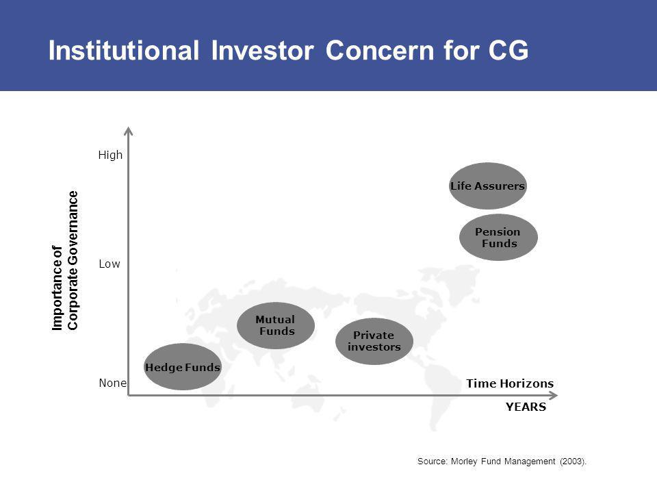 Institutional Investor Concern for CG