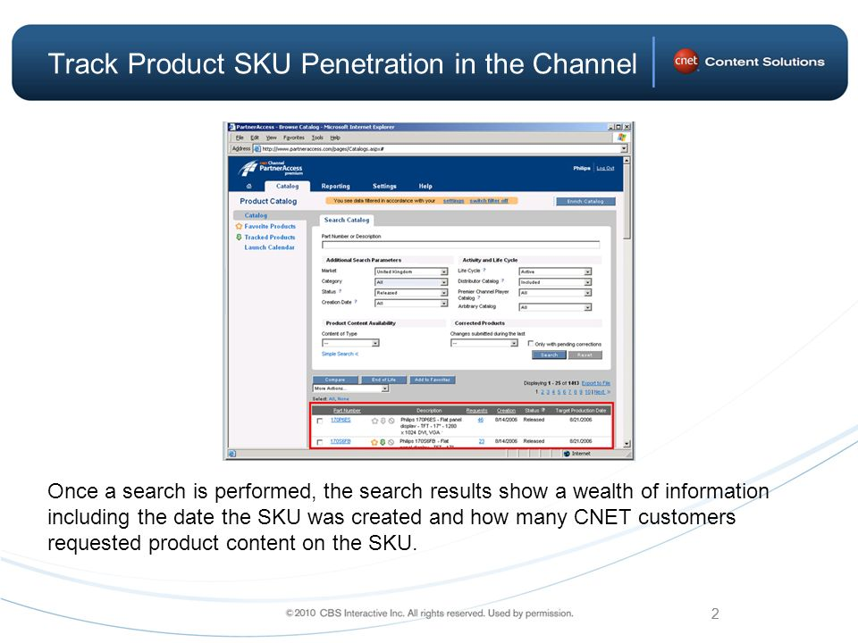 Track Product SKU Penetration in the Channel