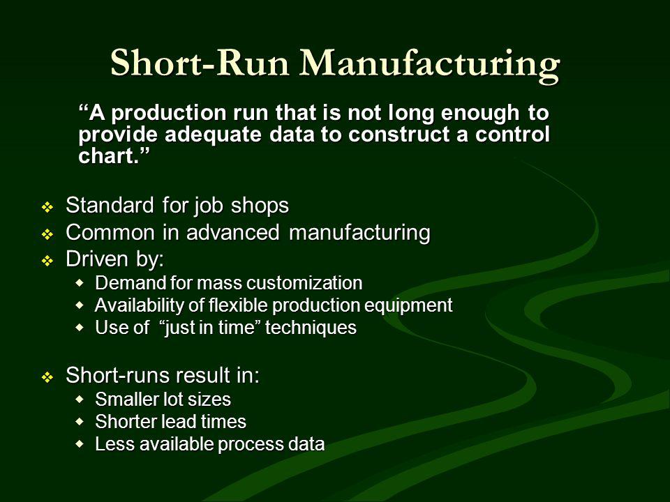 Short-Run Manufacturing