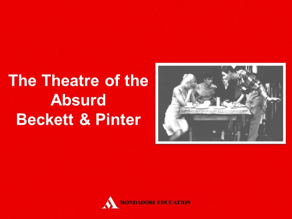 an analysis of the influence on theatre of the absurd big feet The caretaker study guide contains a biography of harold pinter, literature essays, quiz questions, major themes, characters, and a full summary and analysis.