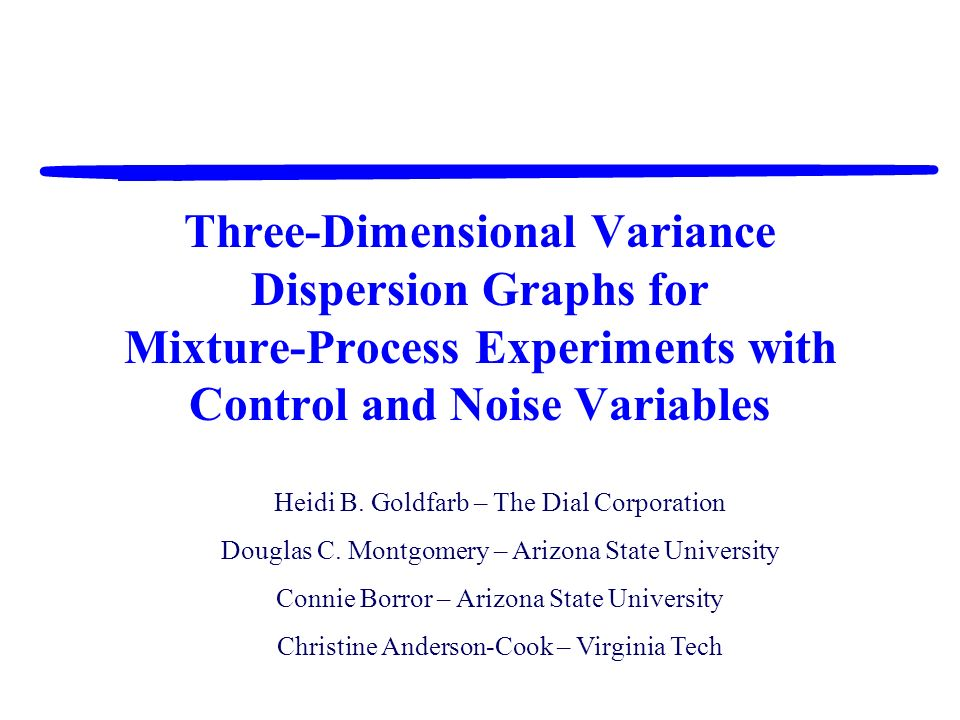 Three-Dimensional Variance Dispersion Graphs for Mixture-Process Experiments with Control and Noise Variables