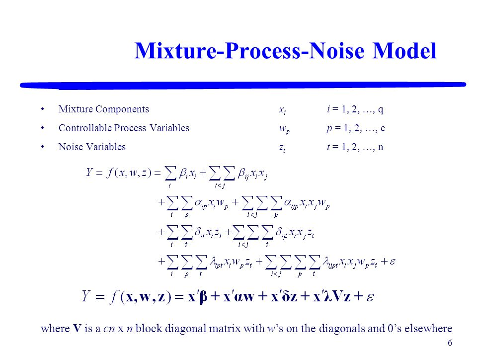 Mixture-Process-Noise Model