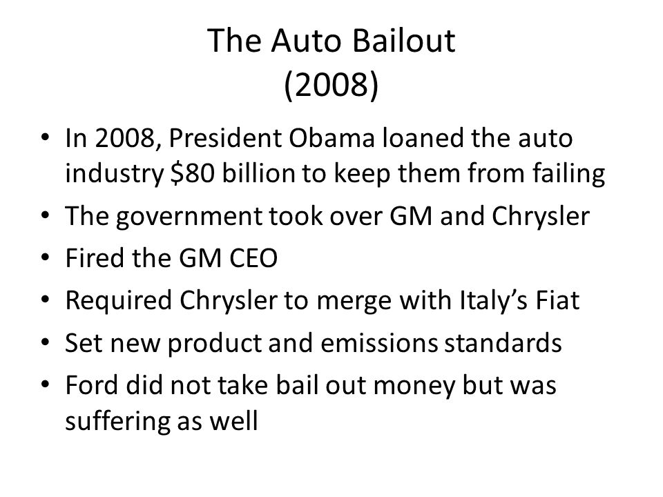 is the auto bailout ethically wrong Did the romneys' auto bailout bonanza violate federal ethics law.