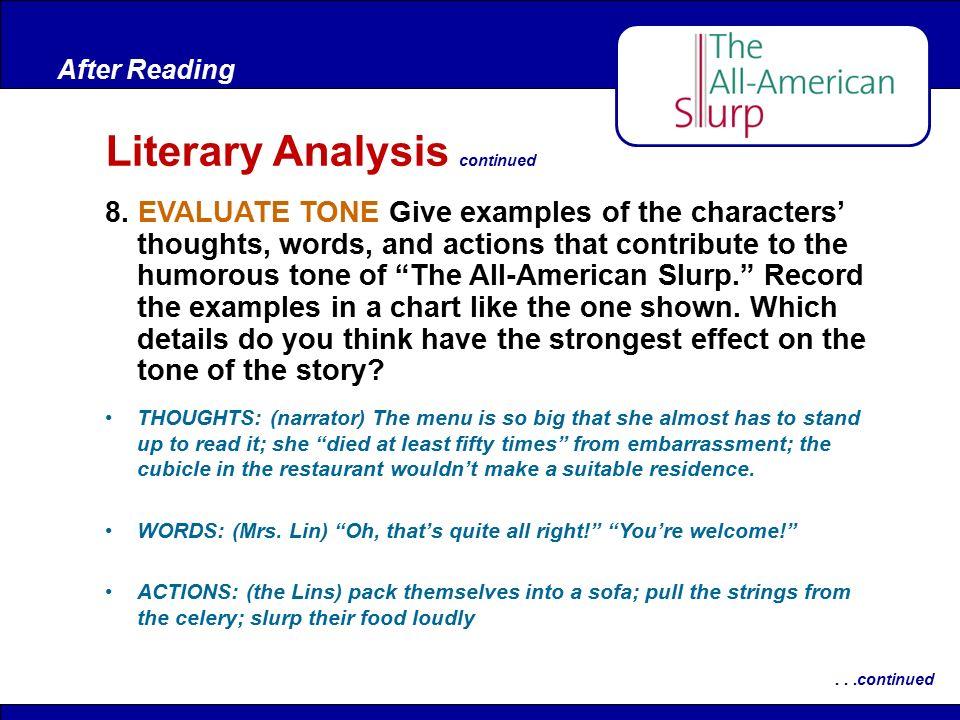 All american slurp essays